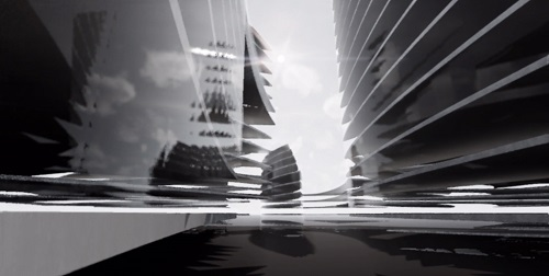 Proiect concept Smart City Flower of Life 05