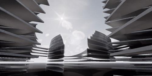 Proiect concept Smart City Flower of Life 06