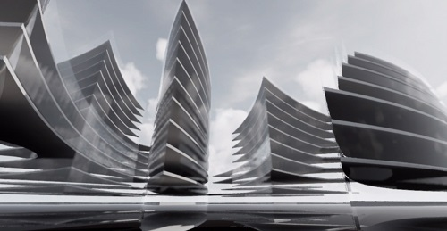 Proiect concept Smart City Flower of Life 08