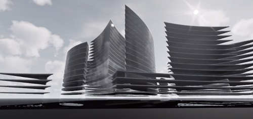 Proiect concept Smart City Flower of Life 13