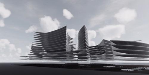 Proiect concept Smart City Flower of Life 14