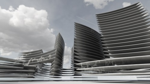 Proiect concept Smart City Flower of Life 17